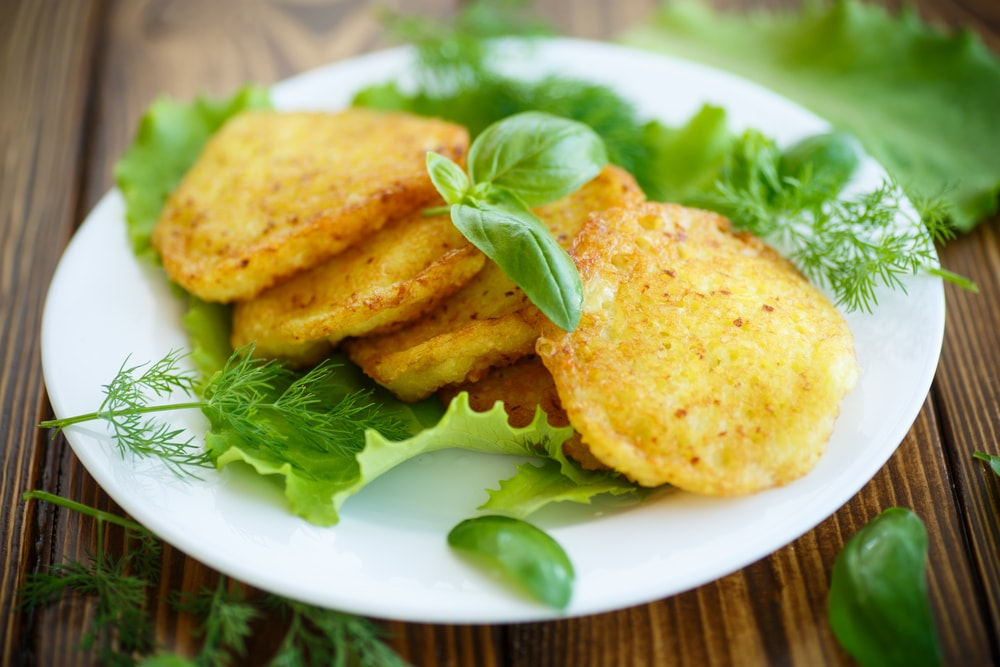 Air Fried Potato Pancakes