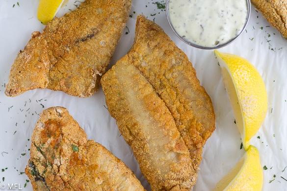 Dory Fillet with Cajun Recipe