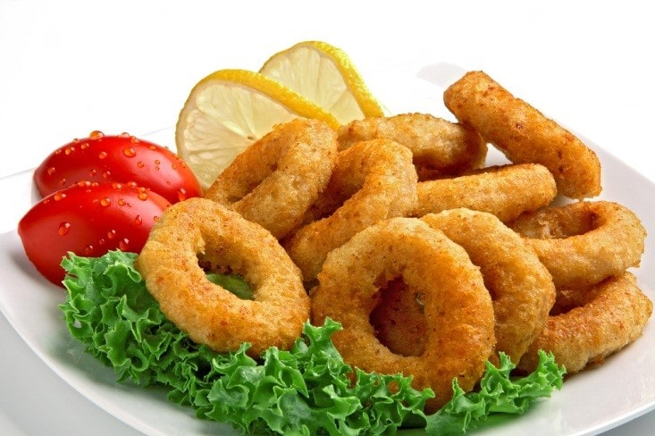 Air Fried Squid Rings