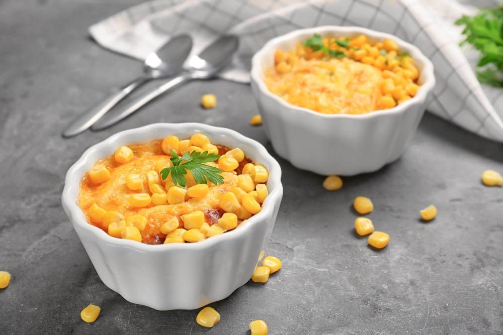 Sweet Corn Custard Recipe