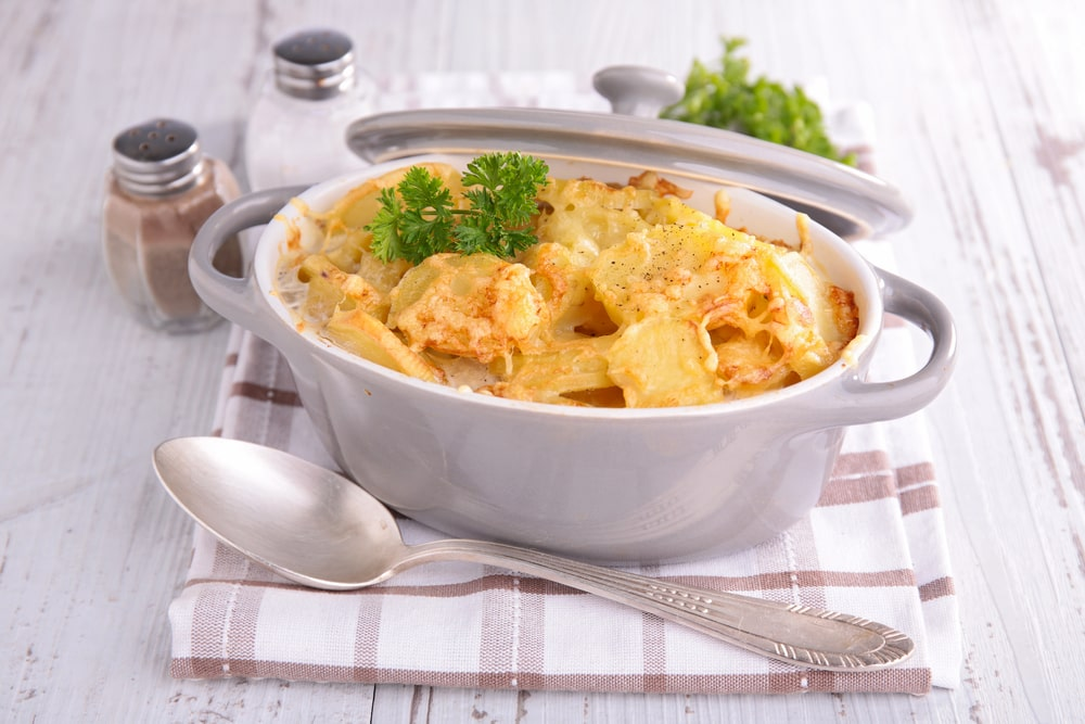 Creamy Potato and Mozzarella Bake Recipe