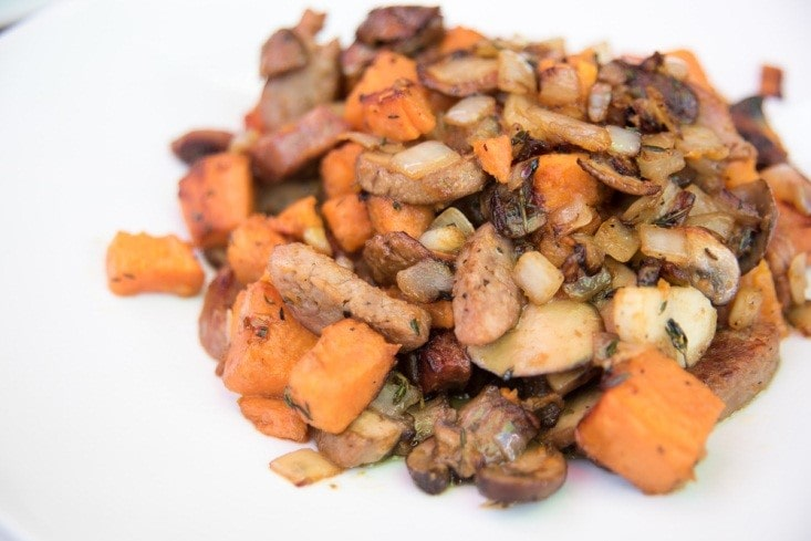 Herbed Sweet Potato Hash Recipe