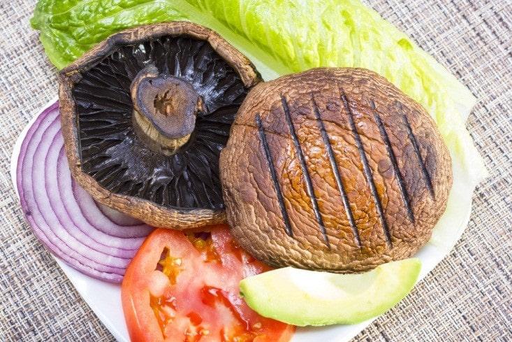 Marinated Portabello Mushroom
