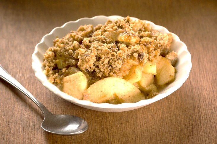 Apple Cinnamon Crumble with Almond