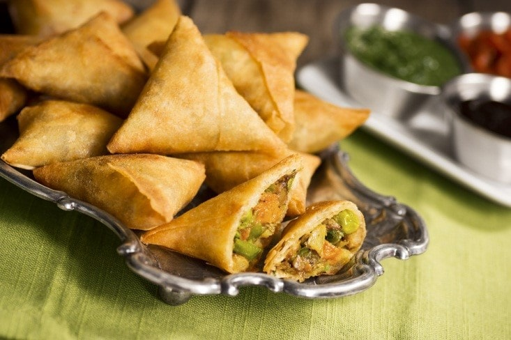air fried samosas recipe