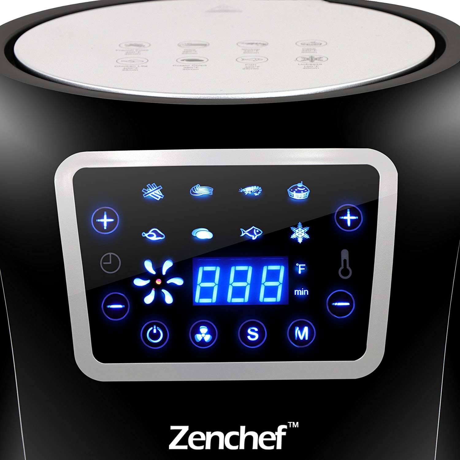 Super Deal Zenchef Pro Xxl Hot Air Fryer Designed For Family